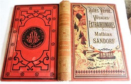 Jules VERNE, Voyages Extraordinaires, Mathias Sandorf, Hetzel, 1885 - Livres, BD, Revues