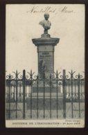 55 - NANTILLOIS - MONUMENT ERNEST BOULANGER INAUGURE LE 1ER AOUT 1909 - Autres Communes