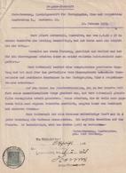 Hist. Dokument / 1929 / Zeugnis-Abschrift Mit Stempelmarke Ex Saarbruecken (BI72) - Historische Dokumente