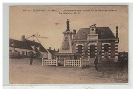 62 WISSANT #10993 MONUMENT AUX MORTS ET MAIRIE N° 2210 - Wissant