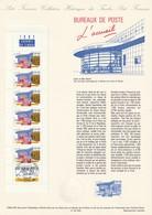 """ASSEZ  RARE  --  """""""" BUREAUX  DE  POSTE  L ' ACCUEIL  """"""""  --  1992  --  Document  Philatélique  Officiel.......... - Documents Of Postal Services"""