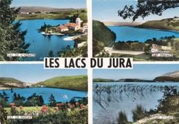 LES LACS DU JURA - (39) - CPSM MULTIVUES DENTELÉE  DE 1968. - France