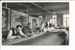 Carte De La Manufacture Des Gobelins Atelier De Beauvais Basse Lisse  ( Format C.P.A ) Fabrication De Tapis ? - Artisanat