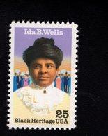 1005358885 SCOTT 2442 POSTFRIS MINT NEVER HINGED EINWANDFREI (XX) - BLACK HERITAGE SERIES  IDA B. WELLS - United States