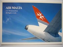 Avion / Airplane / AIR MALATA / Airbus A319-112 / Airline Issue - 1946-....: Ere Moderne