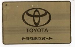 JAPON TELECARTE  LOGO TOYOTA - Auto's