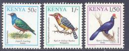 1993. Kenya, Definitives, Birds, 3v, Mint/** - Kenia (1963-...)