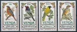 Venda Michel 103-106 Postfrische Serie/** MNH - Singvögel - Pájaros Cantores (Passeri)