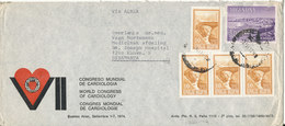 Argentina Air Mail Cover Sent To Denmark 9-4-1973 - Luftpost