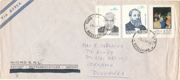 Argentina Air Mail Cover Sent To Denmark 21-10-1985 - Luftpost