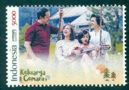 """Indonesie 2019 Ter Gelegenheid Van Release Film """"Keluarga Cemara"""" (Spar Familie) - Indonesia"""