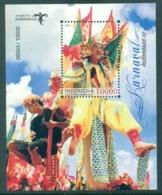 Indonesie 2019 Blokje Carnaval 10.000 Rp - Indonesia
