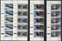Transkei Mi# 79-82 Zylinderstreifen Postfrisch/MNH Controls - Tourism - Transkei