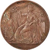 Belgique, Médaille, Léopold Ier, 25ème Anniversaire De L'Inauguration Du Roi - België