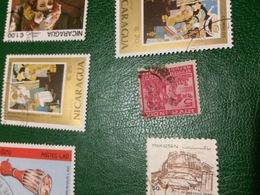 INDIA LAVORO ROSSO 1 VALORE - Stamps