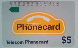 $5 Telecom Logo - Australia