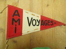 Agence Maritime Internationale Voyages Congo Belge Vlag 1950 Beide Kanten Bedrukt Zelfde - Publicidad