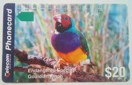 $20 Endangered Species Gouldian Finch - Australia