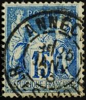-Sage N°101 Type Ll.(CAD) O  ANNECY 25 JANV 1893 - 1876-1898 Sage (Type II)