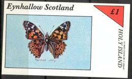 {E004} EYNHALLOW SCOTLAND Butterflies II S/S 1£ MNH** Local Issue !!! - Local Issues