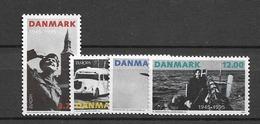 1995 MNH Danmark, Michel 1100-3 Postfris** - Dänemark