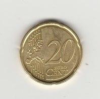 20 EURO CENTS BENOIT XVI 2013 - Vatican