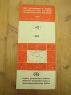 Topografische Kaart Huy - Mapas Topográficas