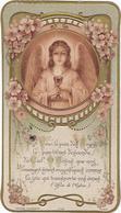 Mage Religieuse Communion Le 06 Juin 1912 Lycee Buffon Eglise  Saint Jean Baptiste De La Salle  Voici Le Pain  Des Anges - Devotion Images