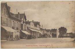 Villiers Sur Marne Place De La Gare - Villiers Sur Marne