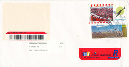 Argentina Domestic Registered Cover Sent 2000 ??? - Briefe U. Dokumente