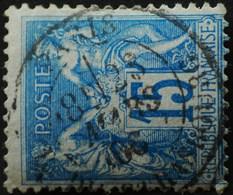 -Sage N°90 Type Ll.(CAD) O PARIS RUE DE STRASBOURG 28 MARS 1888. - 1876-1898 Sage (Type II)