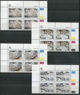 Transkei Mi# 246-9 Zylinderblöcke Postfrisch/MNH Controls - Fossils - Transkei