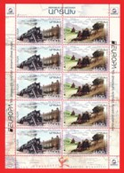Armenien / Armenie / Armenia / Karabakh 2020, EUROPA CEPT, Ancient Postal Routes, MS - MNH - Armenien