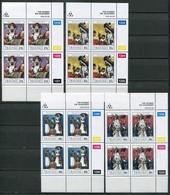Transkei Mi# 254-7 Zylinderblöcke Postfrisch/MNH Controls - Diviners - Transkei