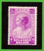 Belgique 1937 - Cob N°465 2F45 + 2F55  - NEUF - Cote € 15.50 - Belgium