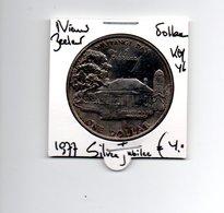 NIEUW ZEELAND DOLLAR 1977 SILVER JUBILEE - Nueva Zelanda
