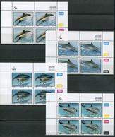 Transkei Mi# 267-70 Zylinderblöcke Postfrisch/MNH Controls - Fauna Dolphines - Transkei