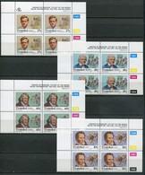 Transkei Mi# 283-6 Zylinderblöcke Postfrisch/MNH Controls - Medical Heroes, Doctors - Transkei