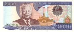 Laos P.33a  2000 Kip 1997  Unc - Laos