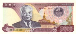 Laos P.34a  5000 Kip 1997  Unc - Laos