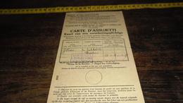KAART VAN VERPLICHT VERZEKERDE......._____( LXV_ ENV : 1 _ LOT 12 ) - 1900 – 1949