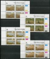 Transkei Mi# 303-6 Zylinderblöcke Postfrisch/MNH Controls - Fossils - Transkei