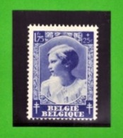 Belgique 1937 - Cob N°464 1F75 + 25c  - NEUF - Cote € 5.25 - Belgium