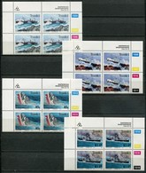 Transkei Mi# 315-8 Zylinderblöcke Postfrisch/MNH Controls - Shipwrecks - Transkei