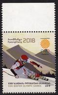 Georgia 2018 Winter Olympic Games In PyeongChang'18 1v MNH - Georgië