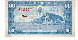 Laos P.3b 10  Kip 1957 A-unc - Laos