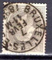 35 Oblitéré - Cote 15,00 € - 1883 Léopold II