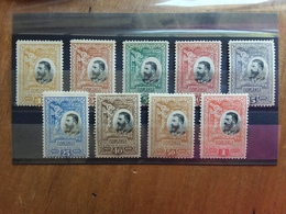 ROMANIA 1906 - 25° Anniversario Del Regno - Nn. 177/85 Nuovi * (manca 1 Valore) + Spese Postali - Ongebruikt