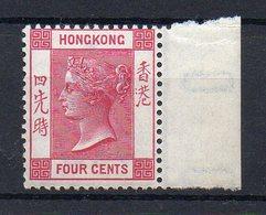 HONG - KONG : N° 36 ** . BDF . TB . 1882/02 . ( CATALOGUE YVERT ) - Hong Kong (...-1997)
