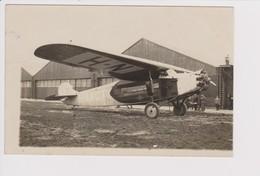 Vintage Rppc KLM K.L.M Royal Dutch Airlines Fokker F-7 Aircraft - 1919-1938: Entre Guerres